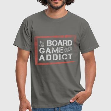 Board Board Games - Board Game addict - Men's T-Shirt