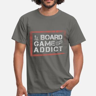 Board Game Board Games - Board Game addict - Men's T-Shirt