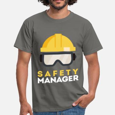 Health And Safety Safety Manager - Safety Manager - Men's T-Shirt