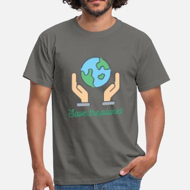 Save The Planet Planet - Save the planet - Men's T-Shirt