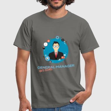 General Manager - (General) Awesome Manager - Men's T-Shirt