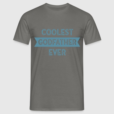 Godfather - Coolest godfather ever - Men's T-Shirt