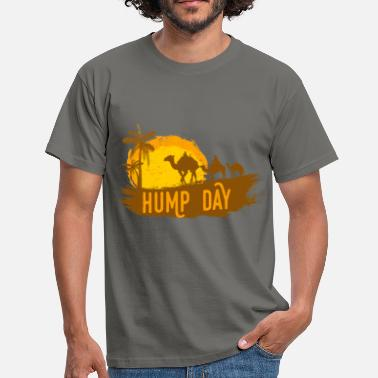 Humping Camel - Hump Day - Men's T-Shirt