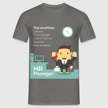 HR Manager - HR Manager, The Unofficial Lawyer,  - Men's T-Shirt