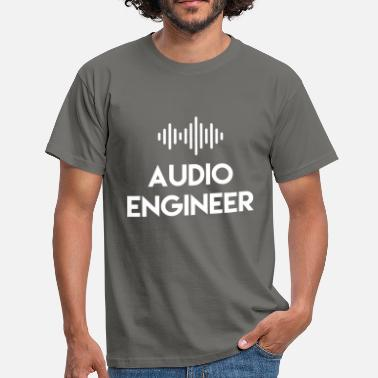 Audio Audio Engineer - Audio Engineer - Men's T-Shirt
