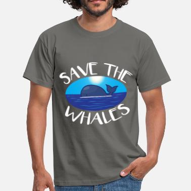 Save The Whales Whales - Save the whales - Men's T-Shirt