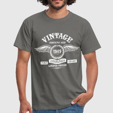 Vintage Perfectly Aged 1949 - Men's T-Shirt