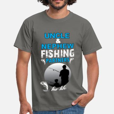 Uncle And Nephew Uncle & Nephew Fishing Partners For Life - Men's T-Shirt