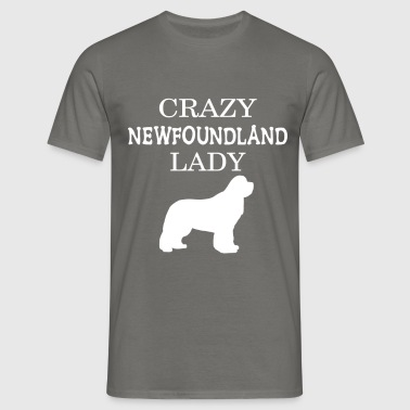 Newfoundland - Crazy Newfoundland lady - Men's T-Shirt