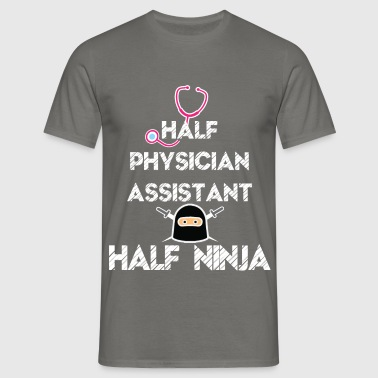 Physician Assistant - Half Physician Assistant  - Men's T-Shirt