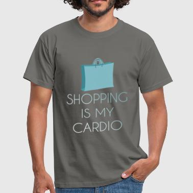 Cardio - Shopping is my cardio - Men's T-Shirt