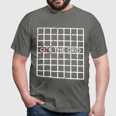 Grid - Off the Grid - Men's T-Shirt