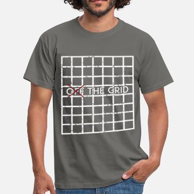 Off Grid Grid - Off the Grid - Men's T-Shirt