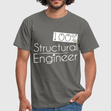 Structural engineer - 100% Structural engineer - Men's T-Shirt