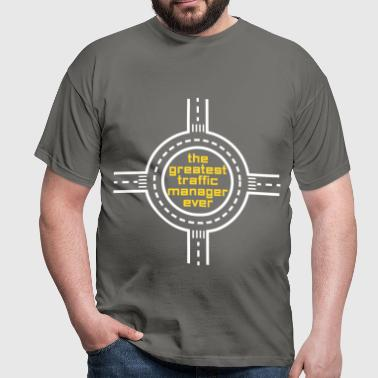 Traffic Manager - The greatest traffic manager - Men's T-Shirt