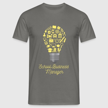School Business Manager - School Business Manager - Men's T-Shirt