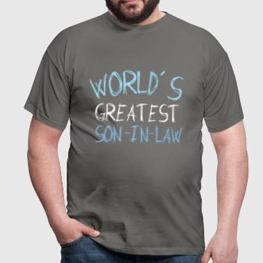 Son-In-Law - World's greatest son-in-law - Men's T-Shirt