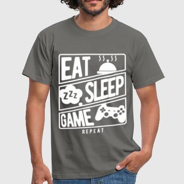 Gaming - Eat, Sleep, Game, Repeat - Men's T-Shirt