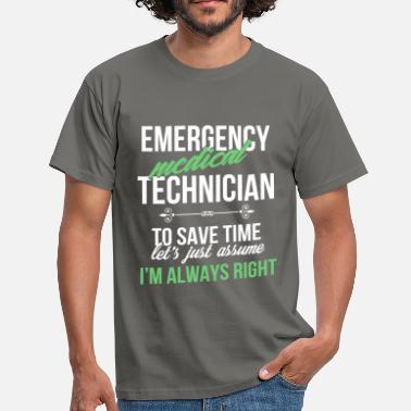 Emergence Emergency medical technician - Emergency medical  - Men's T-Shirt