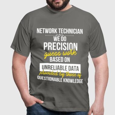 Network technician - Network technician.  - Men's T-Shirt