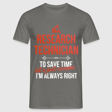 Research technician - Research technician - Men's T-Shirt