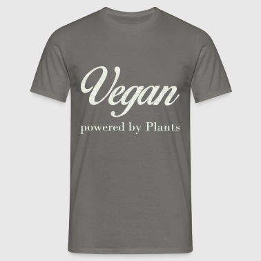 Vegan  - Vegan. Powered by Plants. - Men's T-Shirt