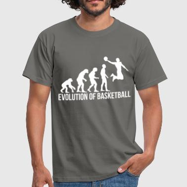 Evolution Basketball Basketball - Evolution of basketball - Men's T-Shirt