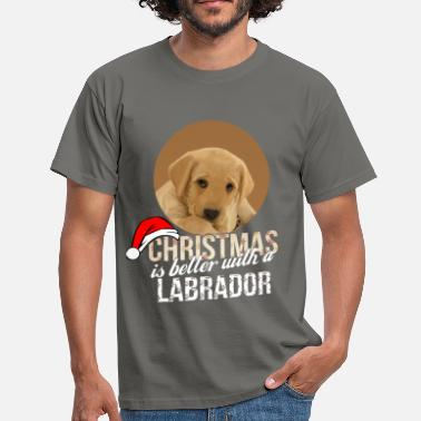 Labrador Apparel Labrador - Christmas is better with a Labrador - Men's T-Shirt
