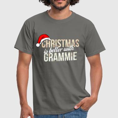 Grammy Grammie - Christmas is better with Grammie - Men's T-Shirt