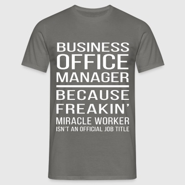 Business office manager - Business office manager  - Men's T-Shirt