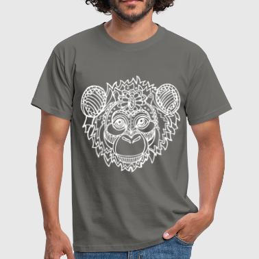 Monkey Bike Monkey - Monkey - Men's T-Shirt