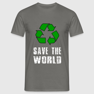 World - Save the world - Men's T-Shirt