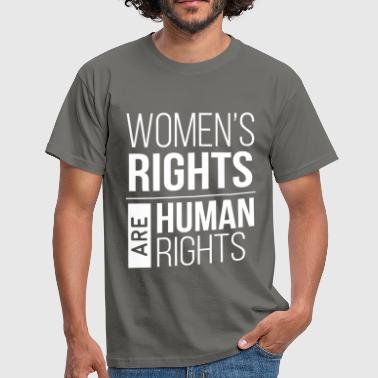 Women's right - Women's rights are human rights - Men's T-Shirt