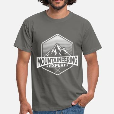 Mountains Clothes Mountaineering - Mountaineering Expert - Men's T-Shirt