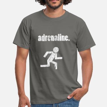 Adrenalin Junkies Adrenaline junkie - Men's T-Shirt