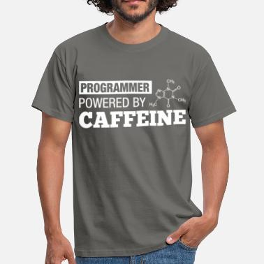 Informatique Programmer Coffee - T-shirt Homme