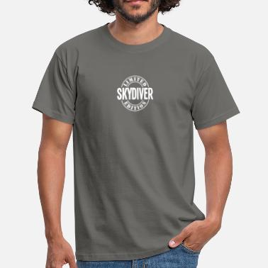 Skydiving skydiver limited edition stamp copy - Men's T-Shirt