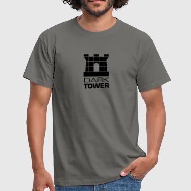 dark_tower turm tower festung - Männer T-Shirt