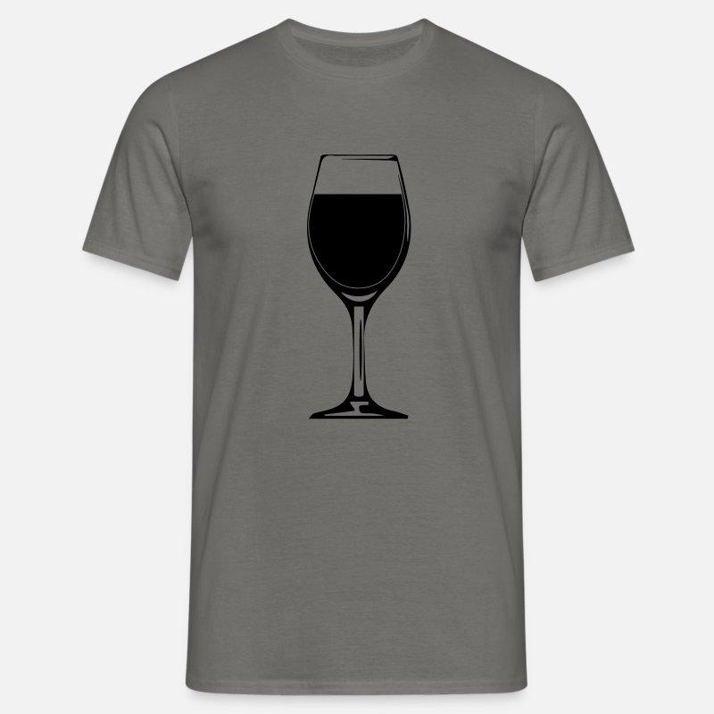 Lampka Wina Butelka Konstrukcja Koszulka Męska Spreadshirt