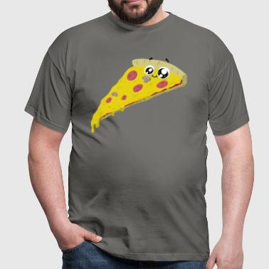 friendly pizza - T-shirt Homme
