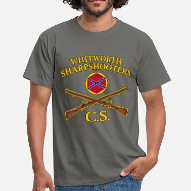 Sharpshooter confederate army - Men's T-Shirt