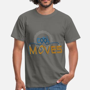 Moves Cool Hot Moves - Miesten t-paita