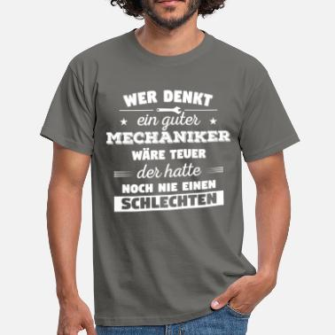 Stolzer Mechaniker Stolzer Mechaniker - Männer T-Shirt