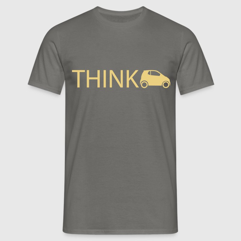think smart - Männer T-Shirt