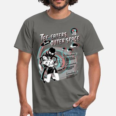 Tea Eaters from Outer Space (3D) - Men's T-Shirt