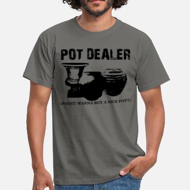 Fnise Pot Dealer Funny cannabis shirt - Herre-T-shirt