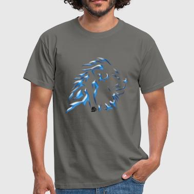 tshirt  lion tribal by customstyle - T-shirt Homme