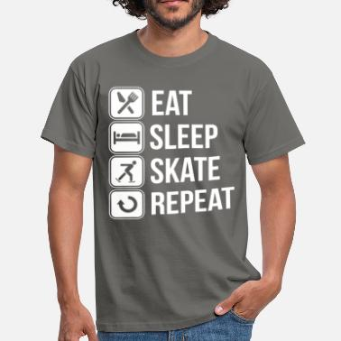Skate Skater Skaters & Skating - Men's T-Shirt