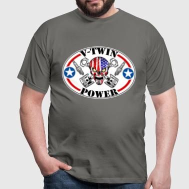 V-Twin Power motorcycles - T-shirt Homme