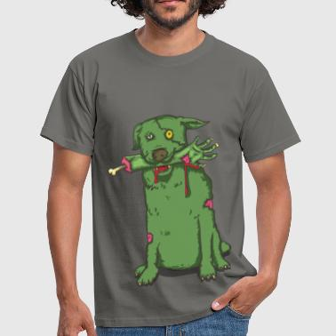 Animal cute zombie dog - Men's T-Shirt